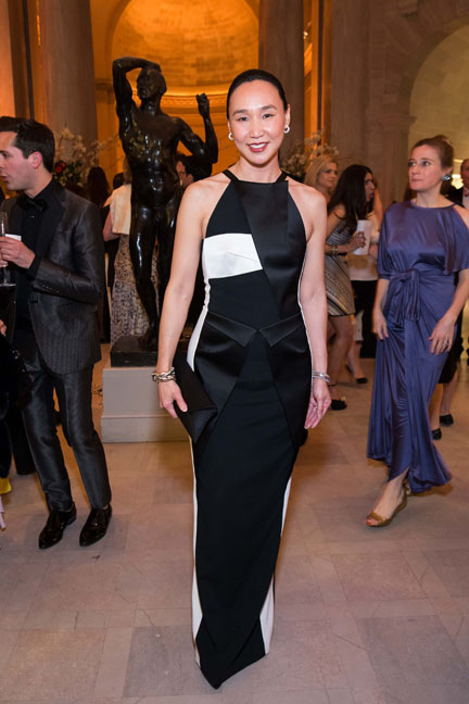Carolyn Chang at the Salvatore Ferragamo 2014 Mid-Winter gala to benefit the Fine Arts Museums, San Francisco