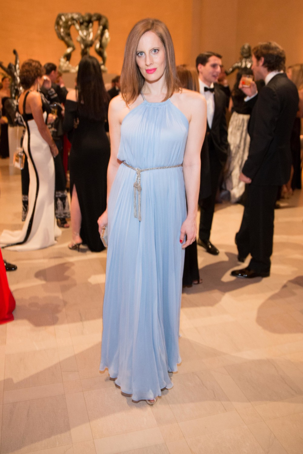 Liz Goldwyn at the Salvatore Ferragamo 2014 Mid-Winter gala to benefit the Fine Arts Museums, San Francisco, wearing Salvatore Ferragamo
