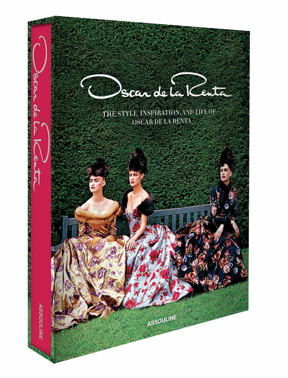 50 years in the making: The Style, Inspiration, and Life of Oscar de la Renta, published by Assouline, $125, assouline.com