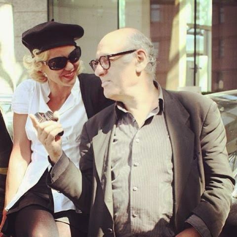Michael Nyman with Amanda Eliasch