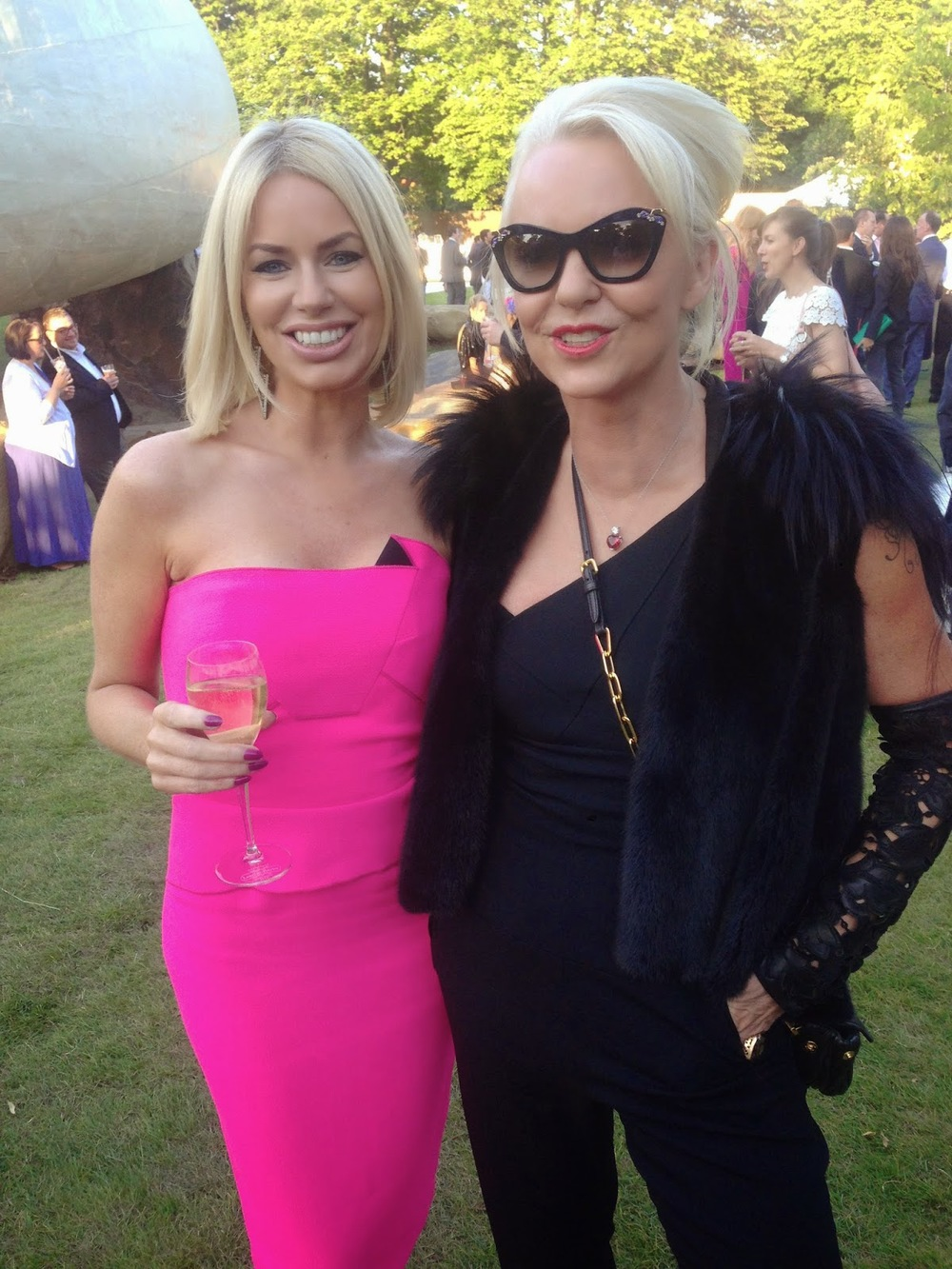 CAROLINE STANBURY AND AMANDA ELIASCH SERPENTINE PARTY