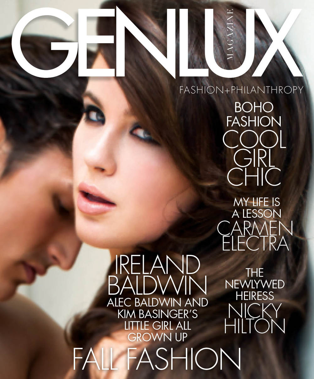 genlux fall 2015 cover ireland baldwin
