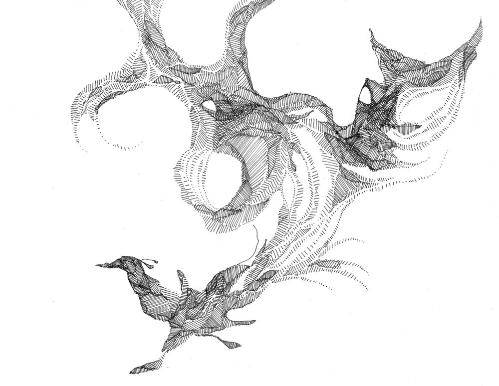 Drawing #117, 2013