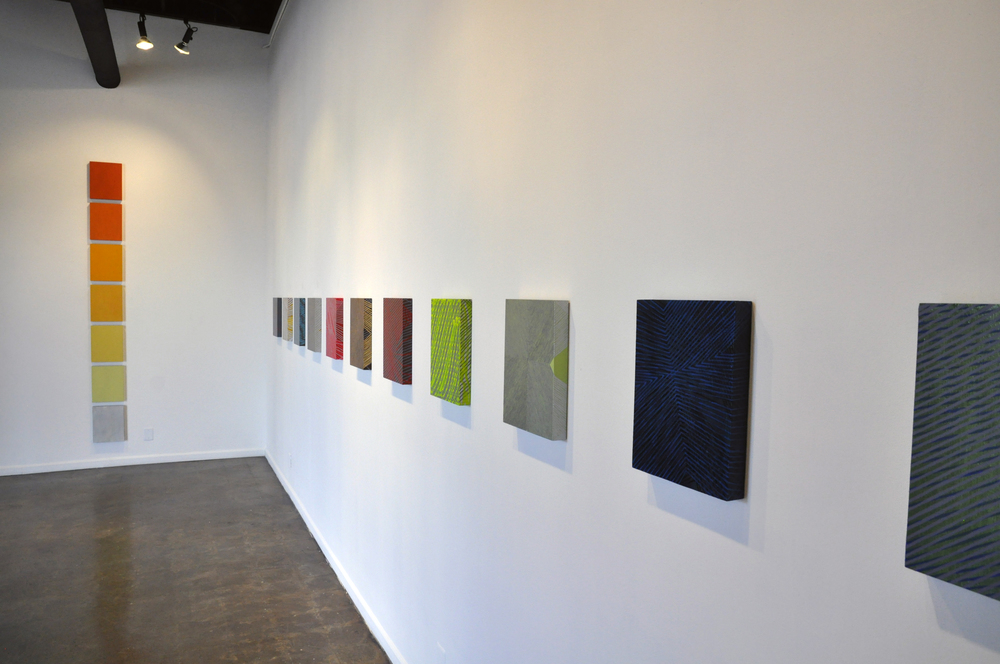 MoonBrightChime    Solo show at   Galleri Urbane  , Dallas, opened 10.11.2014