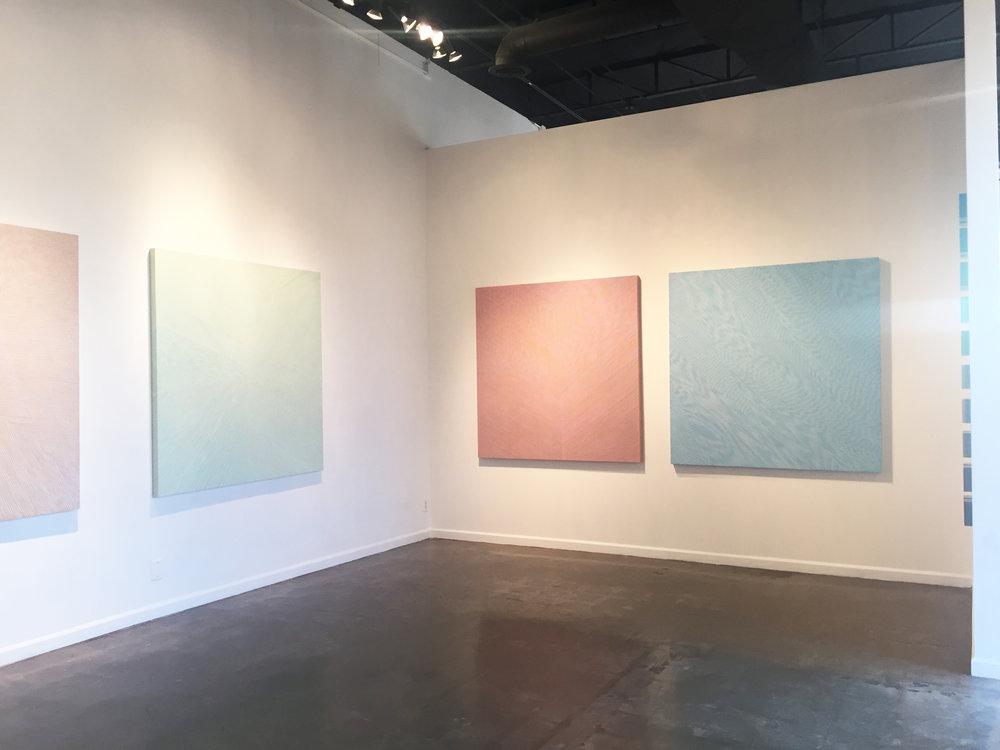 Installation view: lux, Solo Show, Galleri Urbane, 2018.