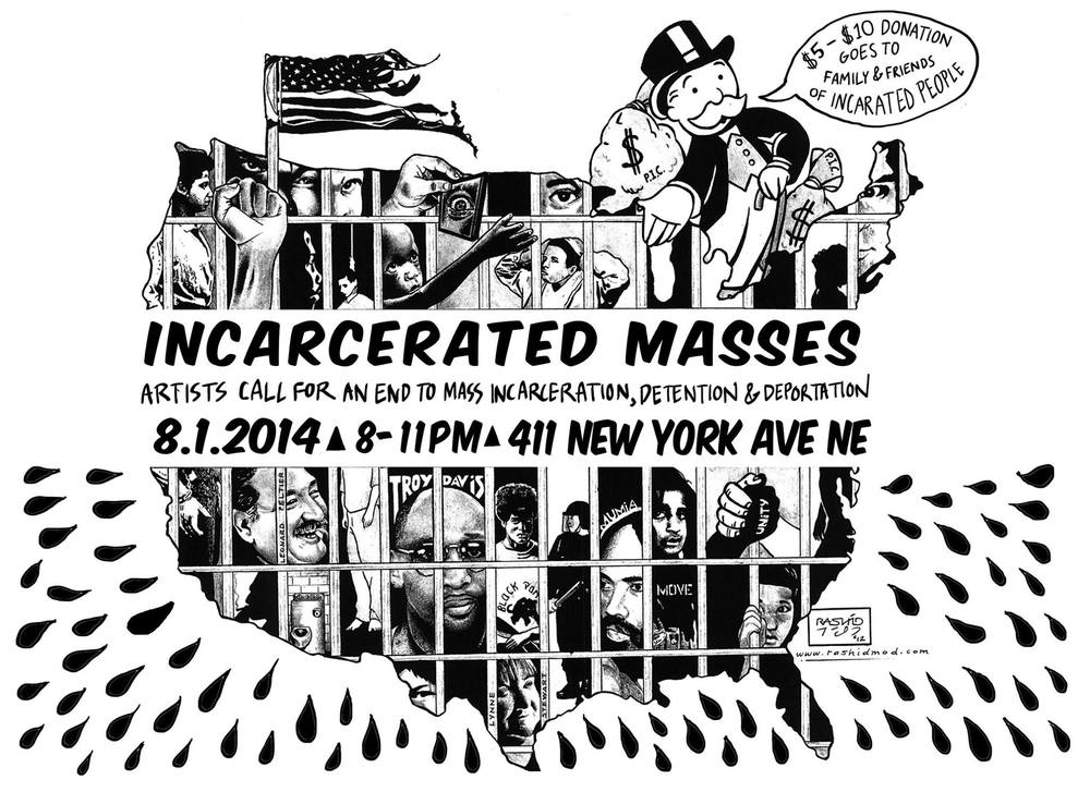 Incarcerated Masses: Artists Call for an End to Mass