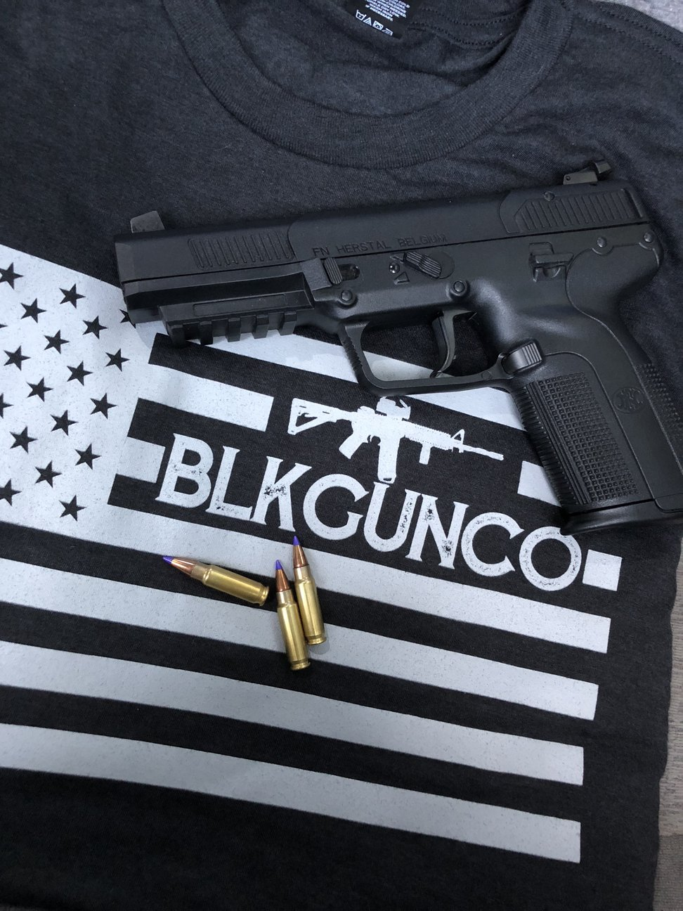 BLKGUNCO - Clothing for the Hot Shot! Support our friends and check out their clothing line and purchase a killer shirt for everyday or the shooting range! - www.BLKGUNCO.com