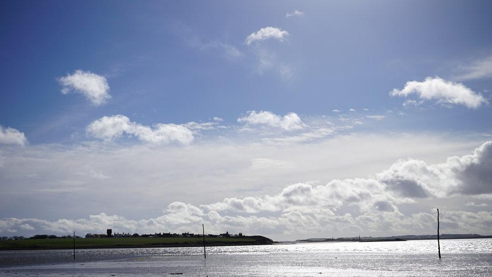 Lindsfarne Island - Northumberland.