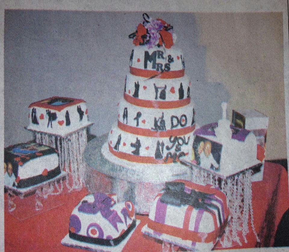 Wedding Cake Cake Cake Cake