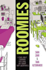 Roomies by Sara Zarr and Tara Altebrando. It's time to meet your new roomie. When East Coast native Elizabeth receives her freshman-year roommate assignment, she shoots off an e-mail to coordinate the basics: television, microwave, mini-fridge. That first note to San Franciscan Lauren sparks a series of e-mails that alters the landscape of each girl's summer -- and raises questions about how two girls who are so different will ever share a dorm room. As the countdown to college begins, life at home becomes increasingly complex. With family relationships and childhood friendships strained by change, it suddenly seems that the only people Elizabeth and Lauren can rely on are the complicated new boys in their lives . . . and each other. Even though they've never met. National Book Award finalist Sara Zarr and acclaimed author Tara Altebrando join forces for a novel about growing up, leaving home, and getting that one fateful e-mail that assigns your college roommate.