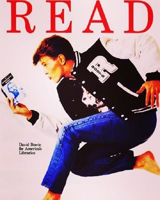 RIP David Bowie, an amazing musician and avid reader! Check out his list of Top 100 Reads published on the nypl blog! #davidbowie #rip #library #books