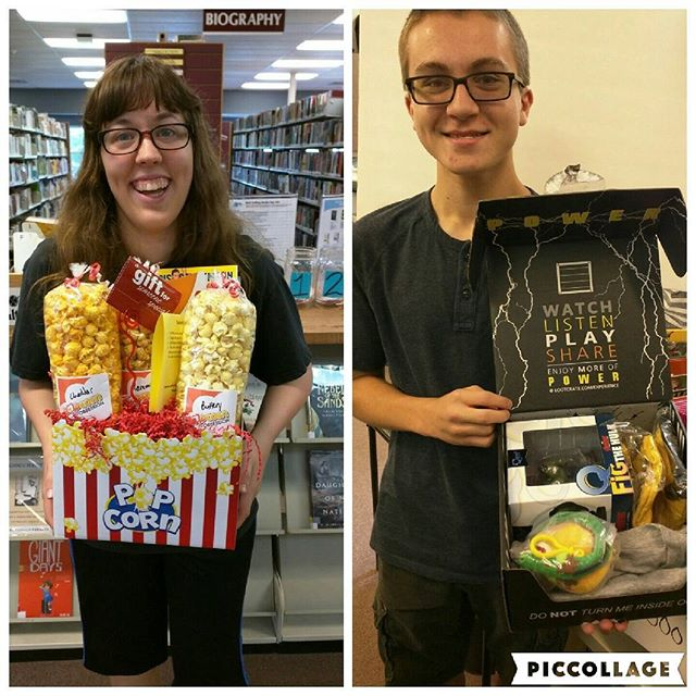 Check out our Week 1 Summer Reading Winners for adults & teens! And a big thank you to our prize sponsors @popcorn_obsession, @amctheatres! #summerreading #rkl