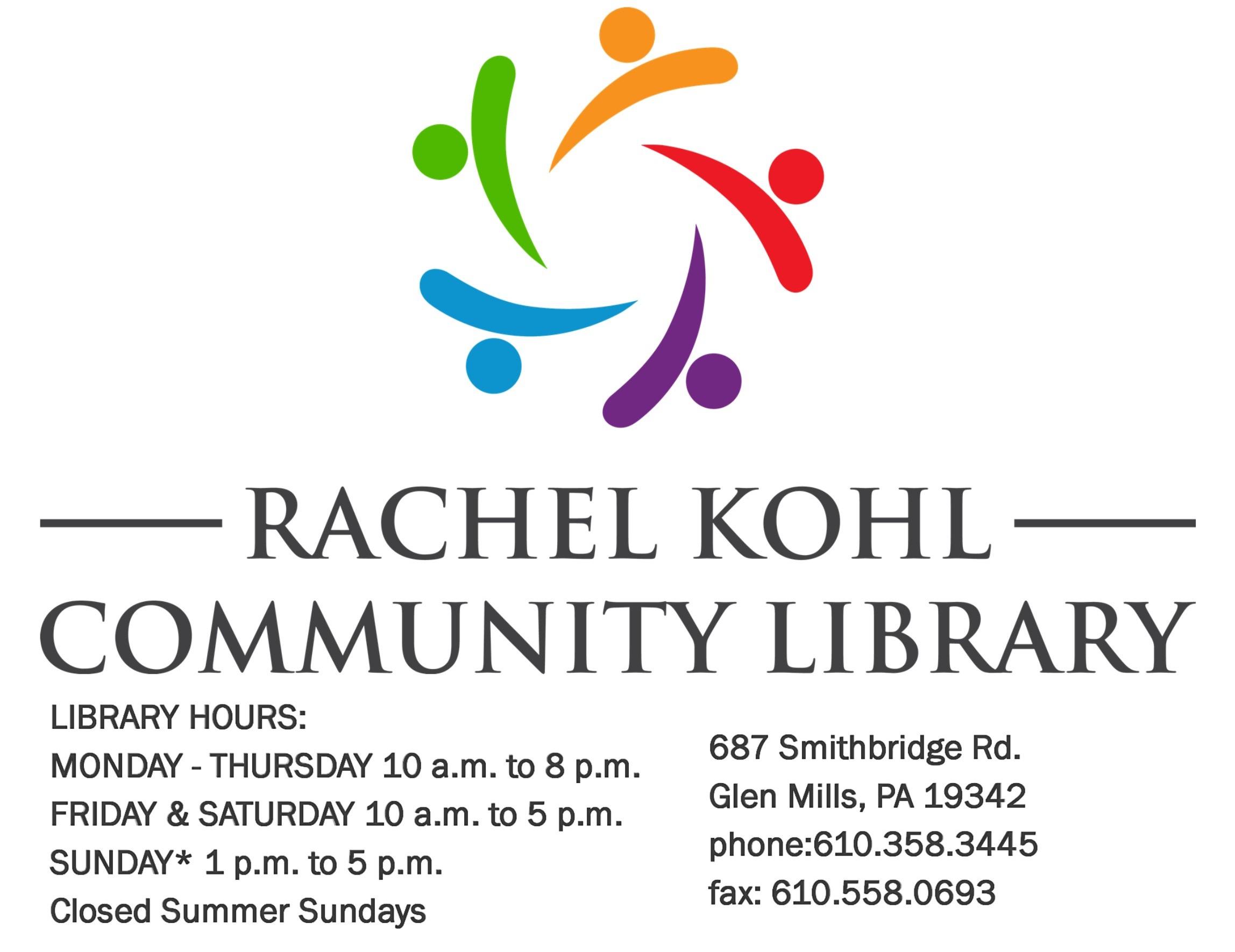 New Books — Library Blog — Rachel Kohl Community Library