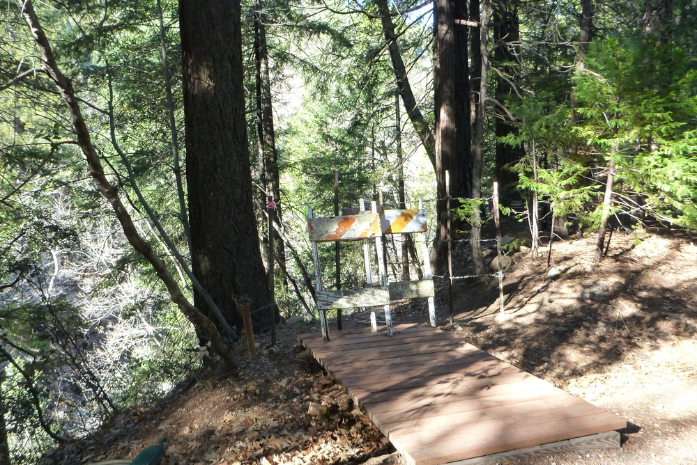 Trail Closure between Tauhindauli Park and Dunsmuir Botanical Gardens