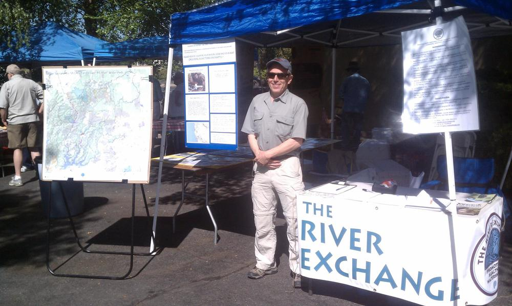 Executive Director Phil Detrich at our Open House booth in 2013