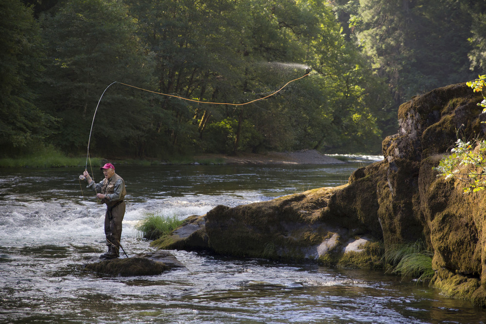 Frank Moore Fly Fishing on the Umpqua River
