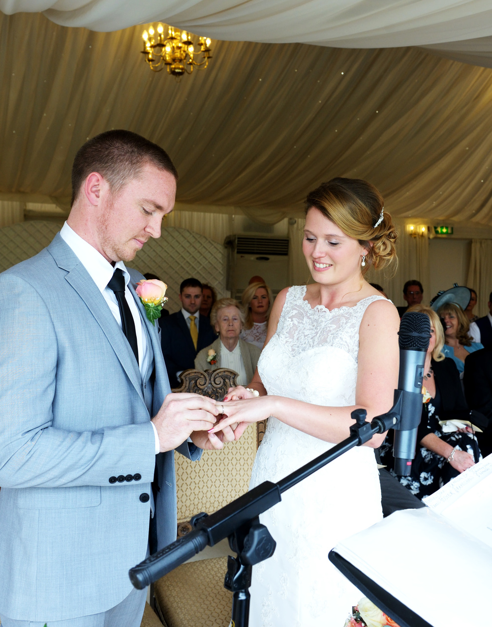 Wedding Ceremony, Hertfordshire Photographer