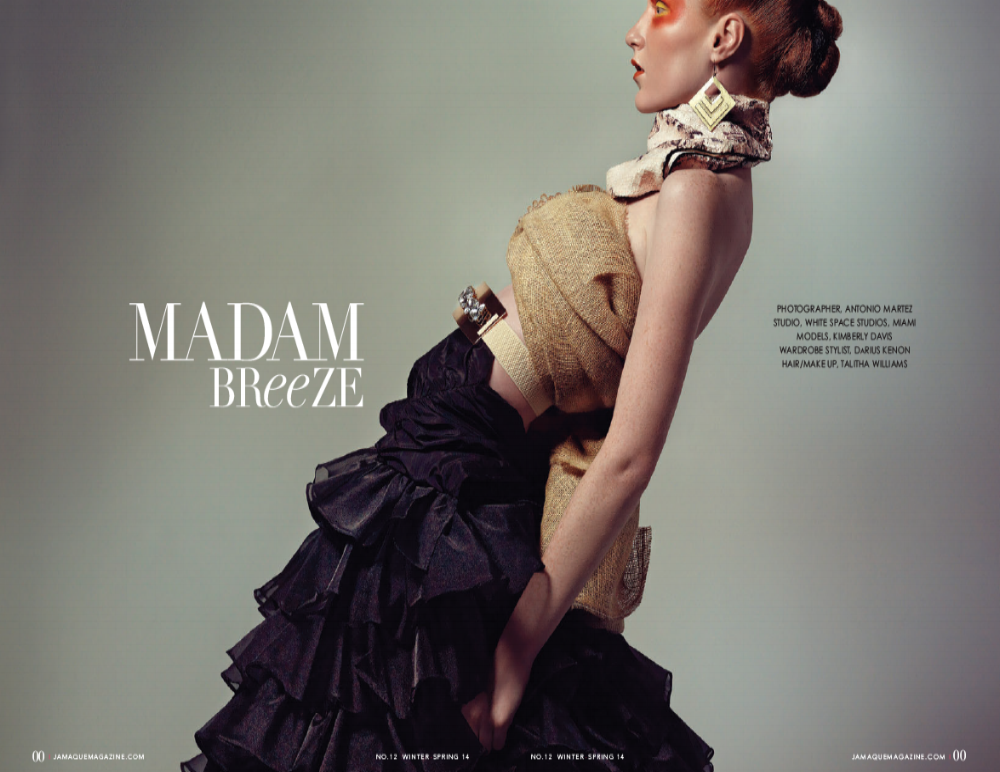 JAMAQUE PARADIS MAGAZINE with Antonio Martez | Fashion & Beauty Photographer | NYC