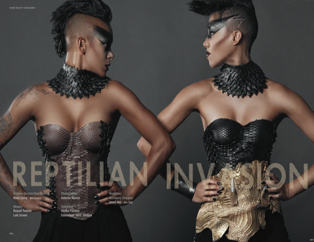 DARK BEAUTY MAGAZINE with Antonio Martez | Fashion & Beauty Photographer | NYC