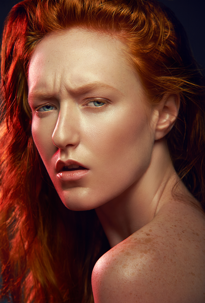 RED HEAD FLORIDIAN by Antonio Martez | Fashion & Beauty Photographer | New York
