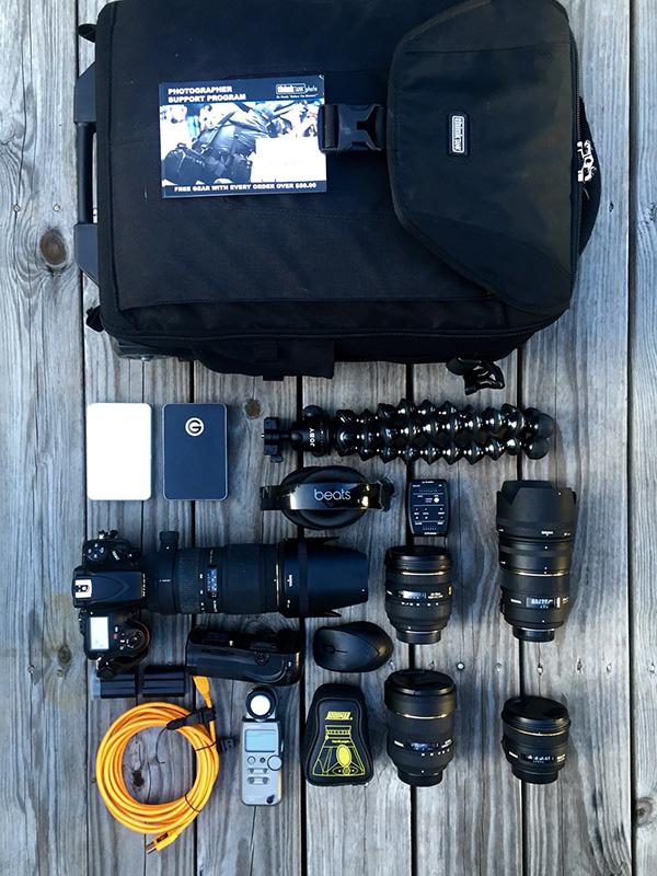 In My Bag - Antonio Martez as featured in  The   Photo Brigade