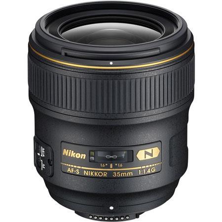 Nikon 35mm f/1.4G Nikkor Lens