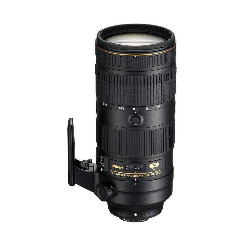 Nikon 70-200mm f/2.8E FL ED VR Lens
