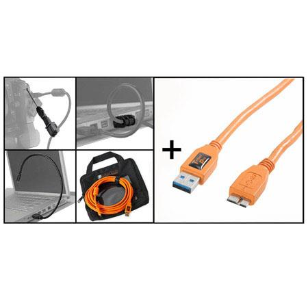 Tether Tools Starter Tethering Kit w/ 15' USB 3.0 Micro-B Cable