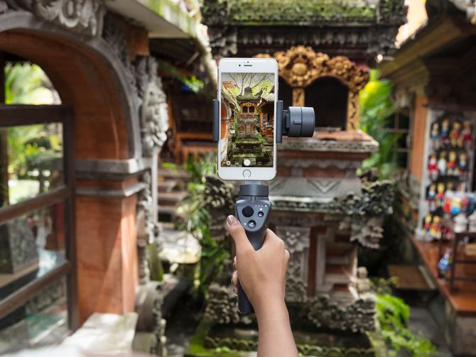 The Osmo Mobile 2 can stabilize vertical and horizontal video.
