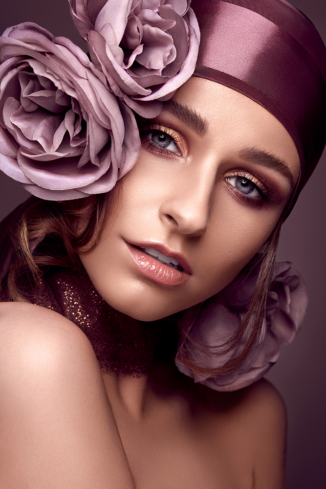 Madame Periwinkle by Antonio Martez, New York Fashion and Beauty Photographer