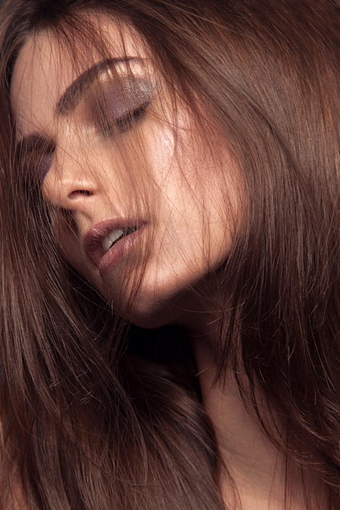 Morning Hair with Wilhelmina Model, Stefanie by Antonio Martez