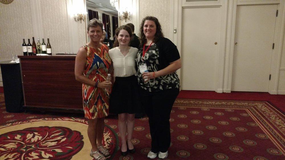 volunteers Mary Pippen, Anna Neder, Karen Petratos 2016.jpg