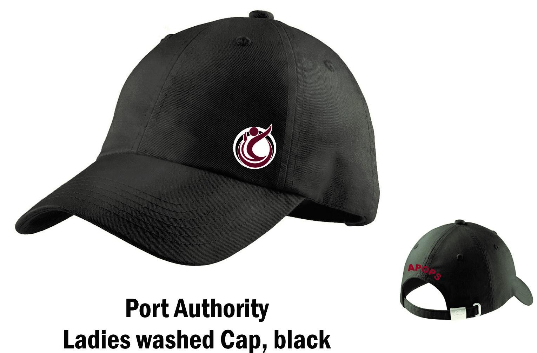 e20d0332ba4 Charcoal Black Garment Washed Cap — APOPS