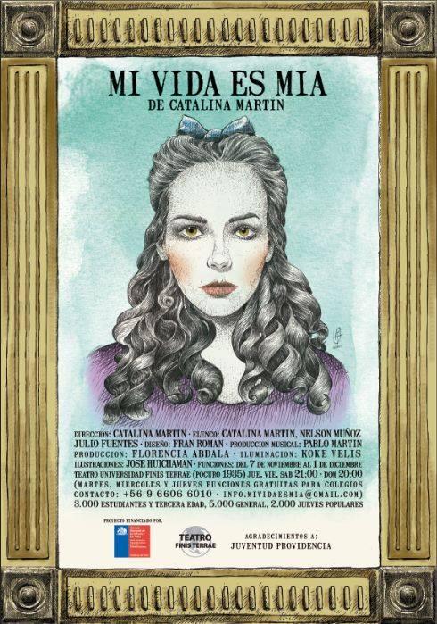 """Producción musical para obra de teatro """"Mi Vida Es Mía"""", ganadora FONDART Regional 2013."""