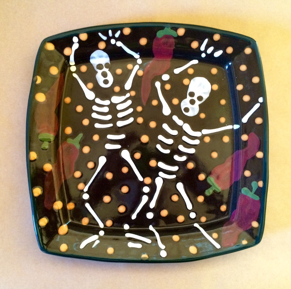 K-15 Day of the Dead Dinner Plate & K-15 Day of the Dead Dinner Plate u2014 stephen kilborn