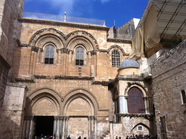Where Jesus was crucified.JPG