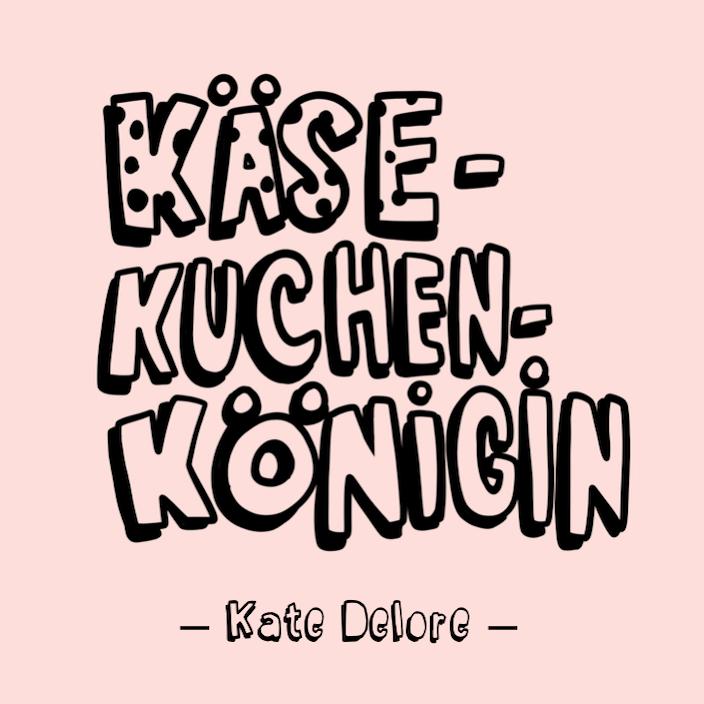 """Grafik: Anne von Bobsmademit ihrem hierfür von Hand """"käsig"""" ergänzten Font """"Madsch""""für © Kate Delore, 2017"""