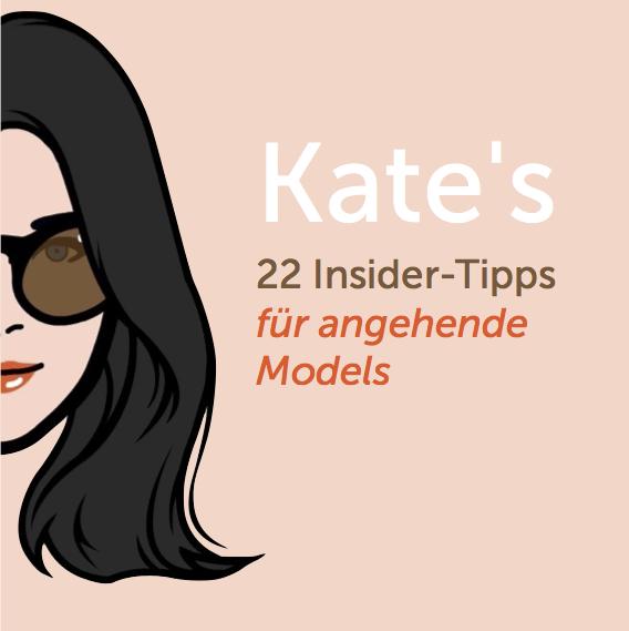 Alle zwei Wochen ein Insider-Tipp für angehende Models. Grafik:  IHKPR  für © Kate Delore, 2018