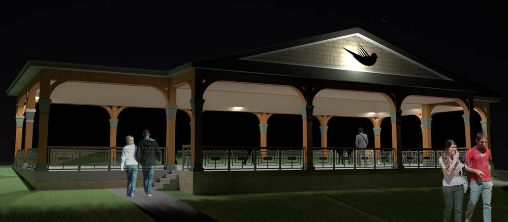 Terrace Park Pavilion, Robbinsdale MN