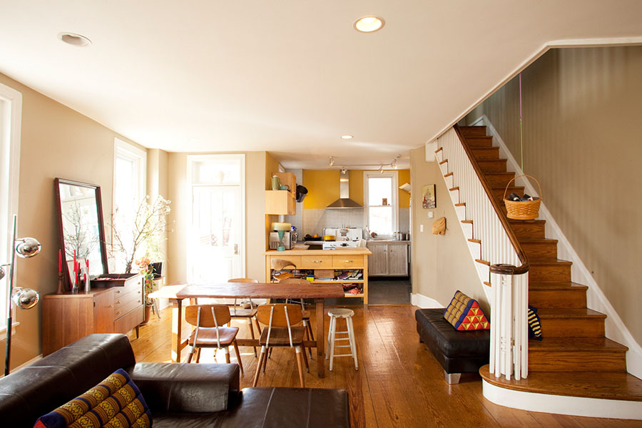 Lovely Philadelphia Row Homes Interior Design Of A Block Of Row Homes, Philadelphia,  PA  Nice Look