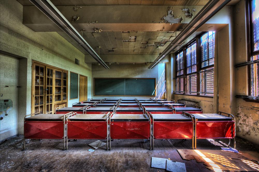 Redford High School by Chris Luckhardt