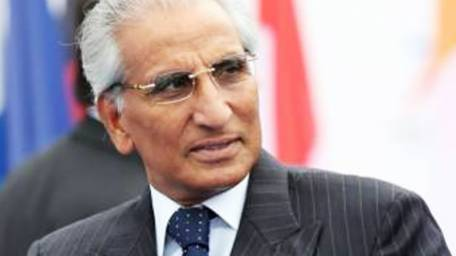 Special Assistant on Foreign Affairs Tariq Fatemi. Copyright Daily Times