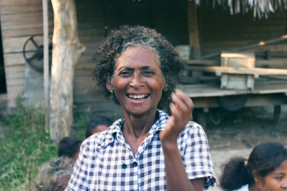 Virginia, an elder of the Aeta tribe in the northern Philippines. Photo by Daniel Ignacio.