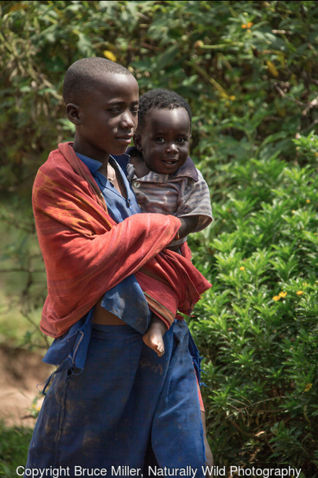 Miller capturing rwandan life and culture in 2014. ©BRUCE MILLER, NATURALLY WILD PHOTOGRAPHY