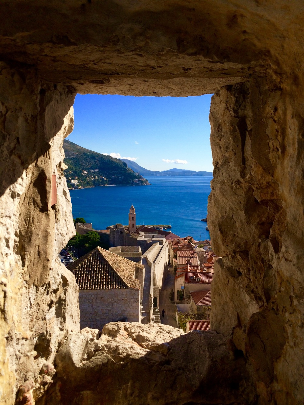 A glimpse at the beauty of Dubrovnik, Croatia. Photo: Larisa Graham.