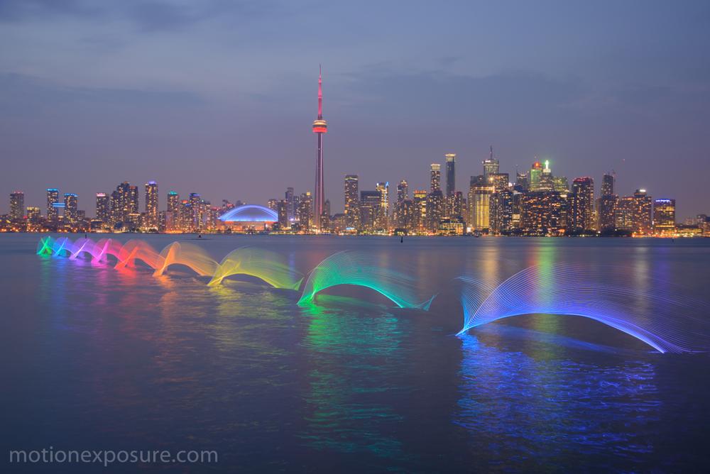 A change of scenery along Toronto's shoreline. PHOTO: Stephen Orlando