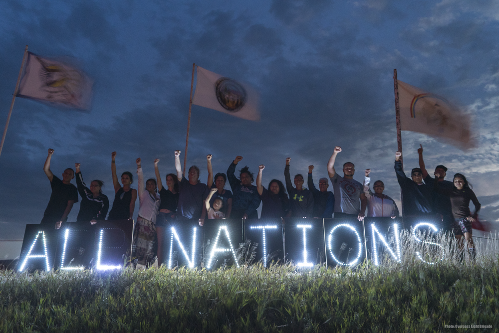 """""""All Nations United"""" by Joe Brusky"""