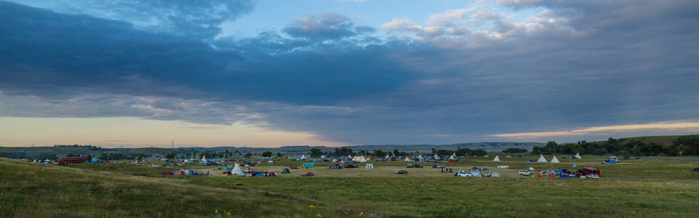 """""""Sacred Stone Camp"""" by Tony Webster"""