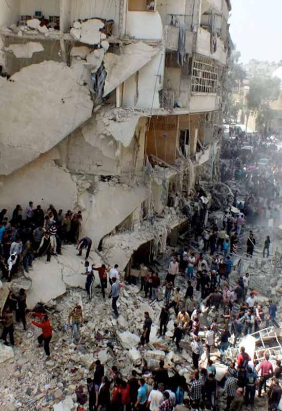 Title: Broken Promises | Image Credit: The White Helmets