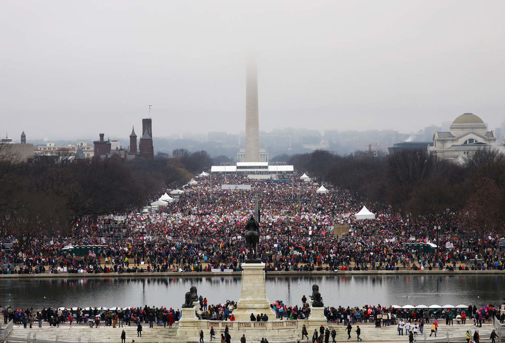 The March on Washington. PHOTO BY CHANG W. LEE/NEW YORK TIMES.
